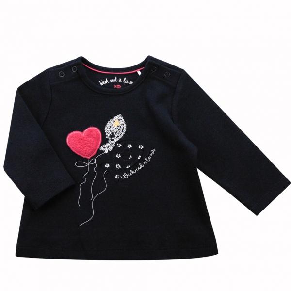 Raspberry lined t-shirt
