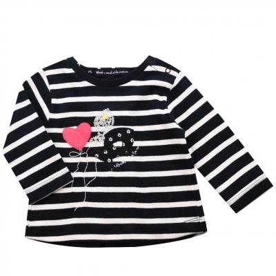 Tee-shirt navy st ecru