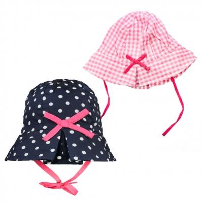 dots -printed hat