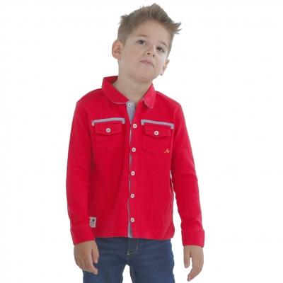 Chemise rouge