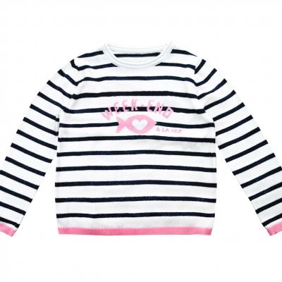 sweater stripe lurex