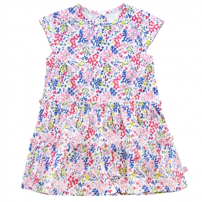 all over flowers dress