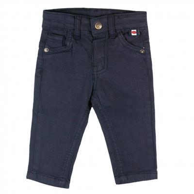 Pantalon marine en toile