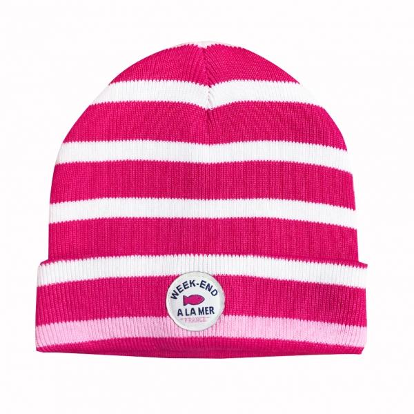 superpink stripe off white hat