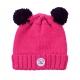 Pink stitch hat