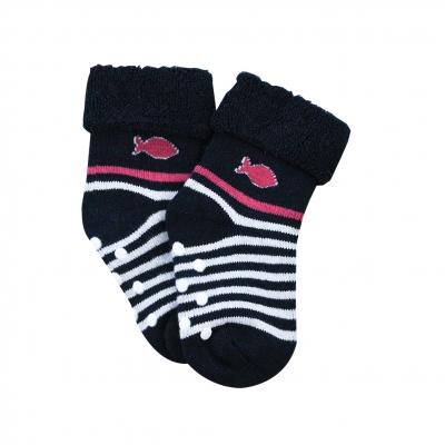 chaussettes anti-dérapantes en bouclette