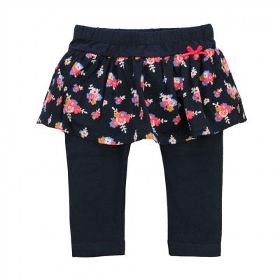 Navy leggings-skirt