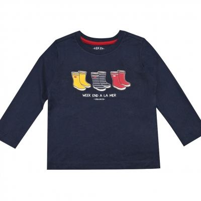 Tee-shirt marine uni