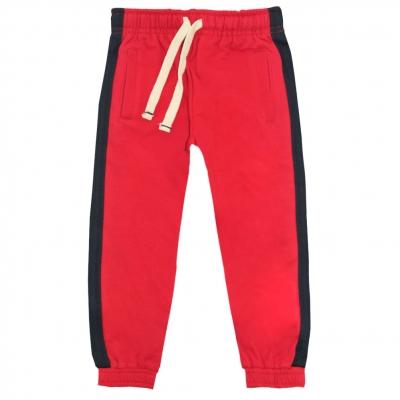 Pantalon de jogging rouge