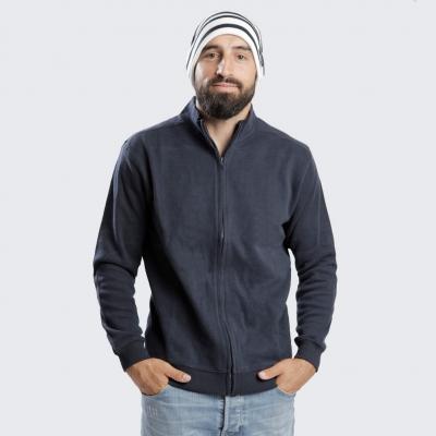 navy zipé vest
