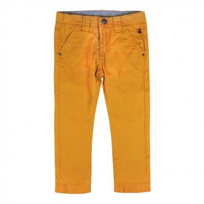 Pantalon jaune doublé