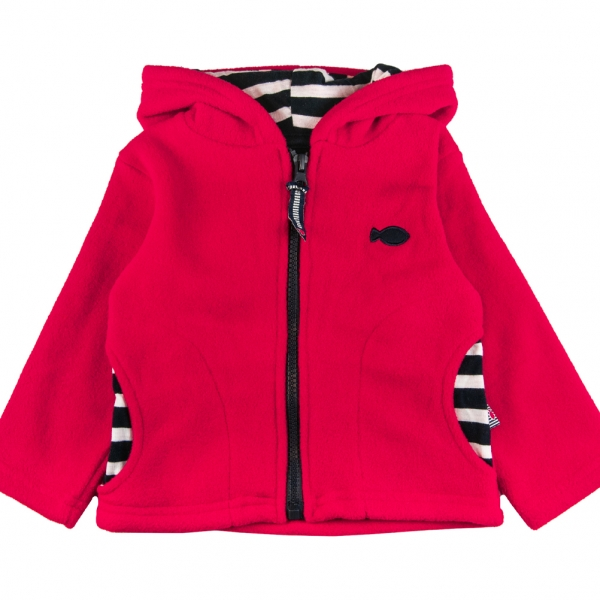 Reversible red sweater