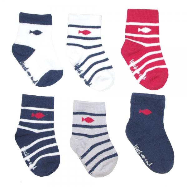 Boite de 6 Paires de chaussettes