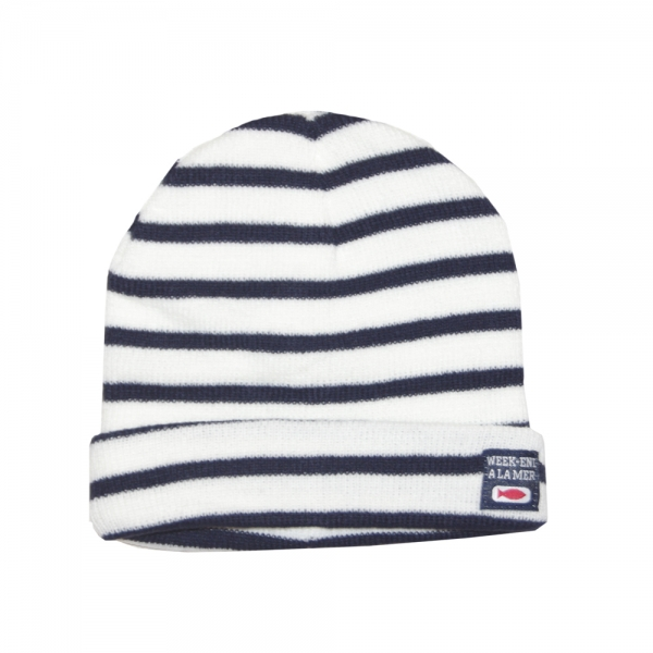 Hat Ecru Navy