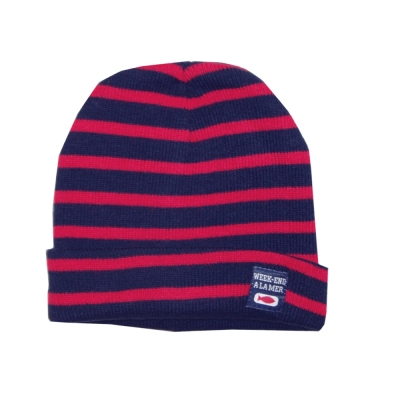 Hat Navy Red