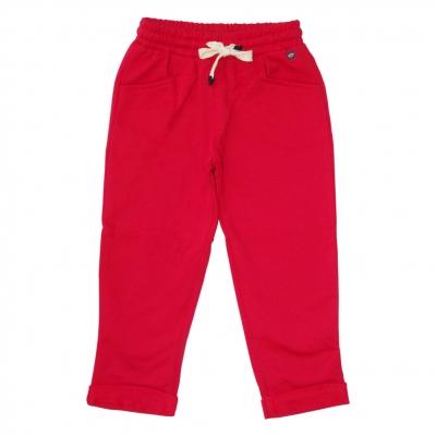 Jogging molleton rouge