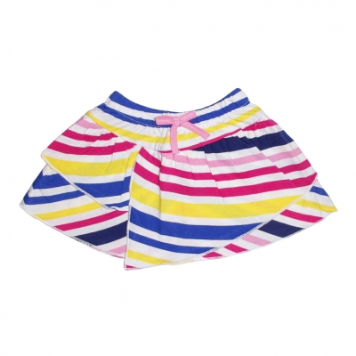 Striped multico skirt