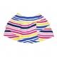 Striped multico skirt