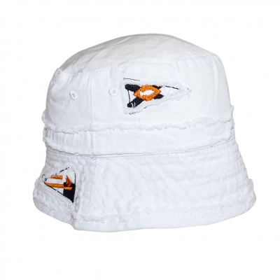 White hat with lining