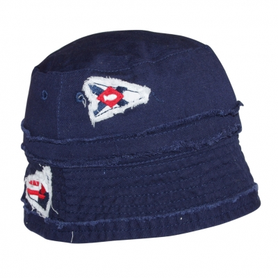 Navy hat with lining