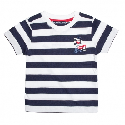 Striped nautical shirt