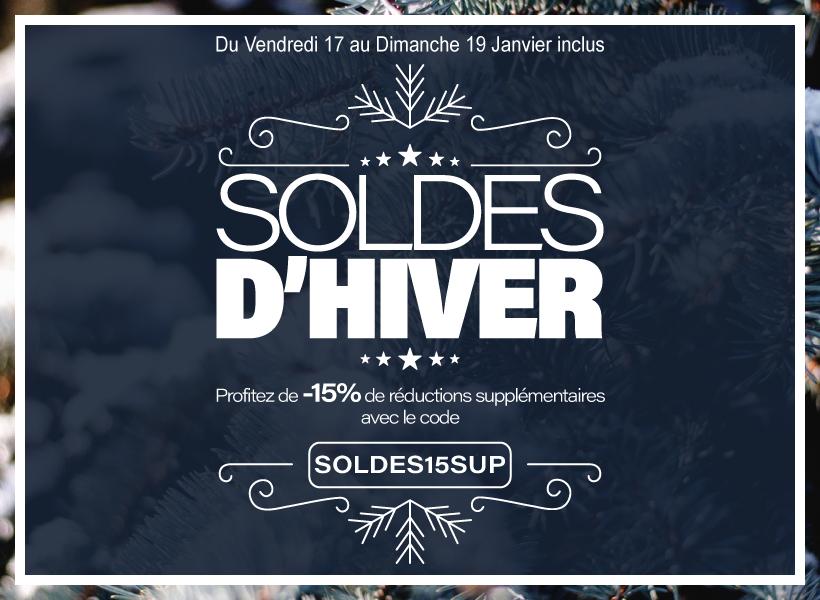 Les Soldes d'Hiver sont en ligne !