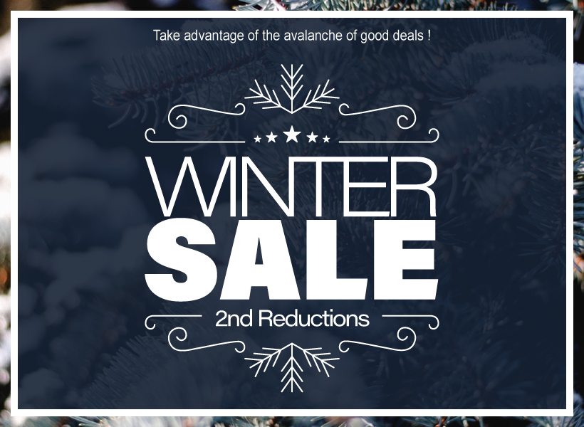 The Winter Sale are online !